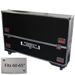 "60"" - 65"" LCD/Plasma Road Case -  Flat Panel Monitor Gator Case"
