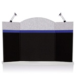Pactiva 4-panel Table Top Display