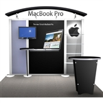 Macbook Hybrid Trade Show Rental Display