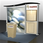Harris Hybrid Trade Show Rental Display