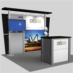 Creo Arts Hybrid Trade Show Rental Display