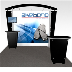 Akebono Hybrid Trade Show Rental Display