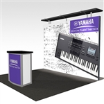 Yamaha Hybrid Trade Show Rental Display
