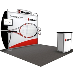 Babolat Hybrid Trade Show Rental Display