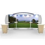Visionary Hybrid Trade Show Rental Display