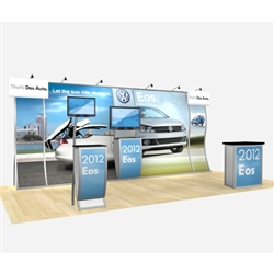 Perfect 20 Hybrid Trade Show Rental Display