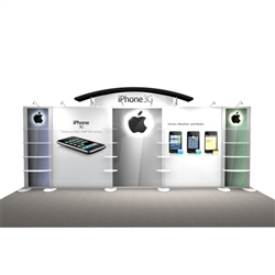 iPhone Hybrid Trade Show Rental Display