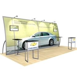 Magellan Miracle Hybrid Trade Show Rental Display