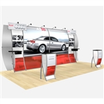 Perfect 20 Audi Hybrid Trade Show Rental Display