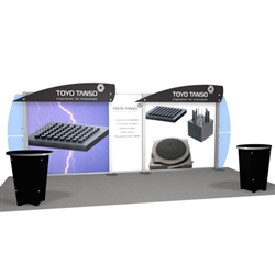 Toyo Tanso Hybrid Trade Show Rental Display