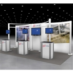 Orix Hybrid Trade Show Rental Display