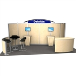 Deloitte Hybrid Trade Show Rental Display