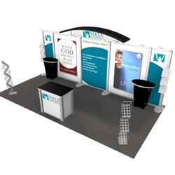 Focus on the Family Hybrid Trade Show Rental Display