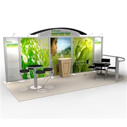 ezp Hybrid Trade Show Rental Display
