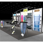 Fineline Hybrid Trade Show Rental Display