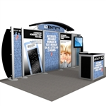 IDentity Hybrid Trade Show Rental Display