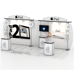 iPad Hybrid Trade Show Rental Display