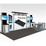 Thinium Hybrid Trade Show Rental Display