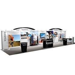 Kinetix Hybrid Trade Show Rental Display