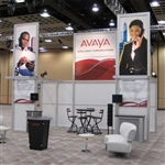 Avaya Hybrid Trade Show Rental Display