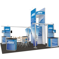 Mentor Hybrid Trade Show Rental Display