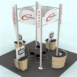 Cross Group Hybrid Trade Show Rental Display