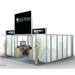 Urban Partners Hybrid Trade Show Rental Display