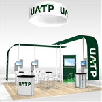 UATP Hybrid Trade Show Rental Display