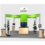 Cadec Hybrid Trade Show Rental Display