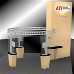 ATI Hybrid Trade Show Rental Display