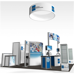 Filtrona Hybrid Trade Show Rental Display