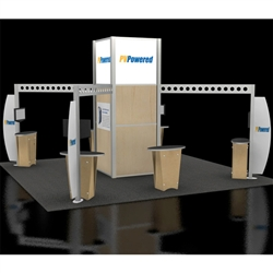 PVPowered Hybrid Trade Show Rental Display