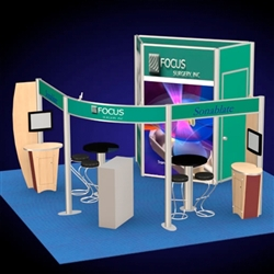 Focus Surgery Hybrid Trade Show Rental Display