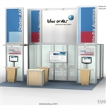 Blue Order Hybrid Trade Show Rental Display