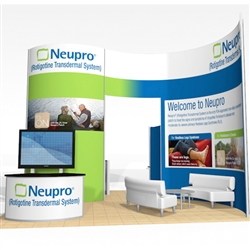 Neupro Hybrid Trade Show Rental Display