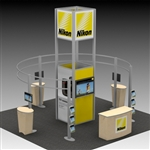 Nikon Hybrid Trade Show Rental Display