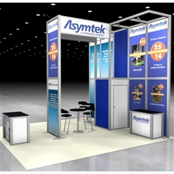 March Asymtek Hybrid Trade Show Rental Display