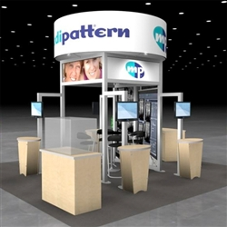 Medipattern Hybrid Trade Show Rental Display