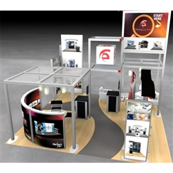 Classic Exhibits Hybrid Trade Show Rental Display