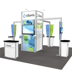 Silanis Hybrid Trade Show Rental Display
