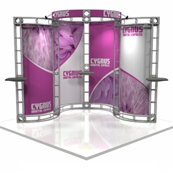 Cygnus Trade Show Truss Rental