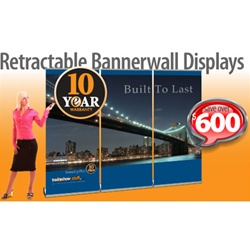 Graphic Services for Retractable Banner Walls