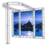 GBX 10ft x 10ft TK Truss Display Booth