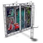 Pisa 10ft x 10ft TK Truss Display Booth
