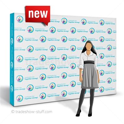 a!!ure 10ft Step and Repeat Backdrop