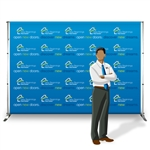 Horizon Telescopic Step and Repeat Backwall
