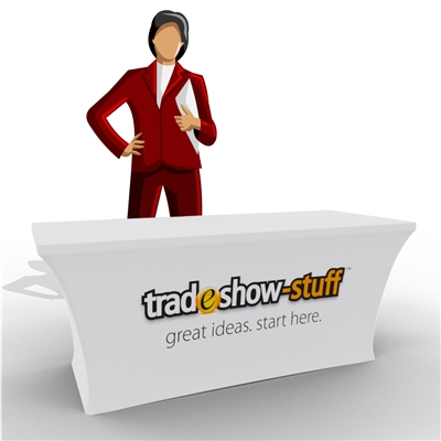Stretch Trade Show Table Cover