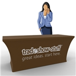 Stretch Trade Show Table Drape