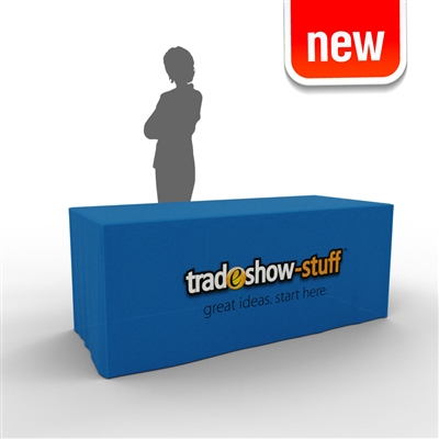 Fitted Trade Show Table Cover