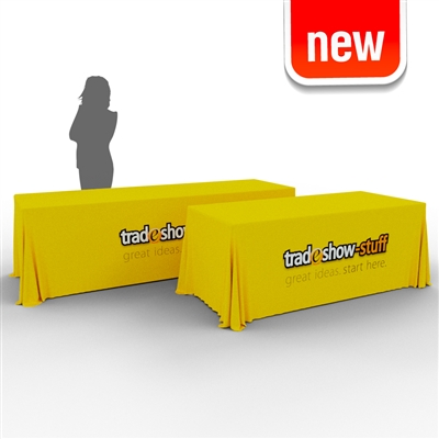8-6ft Convertible Trade Show Table Cover